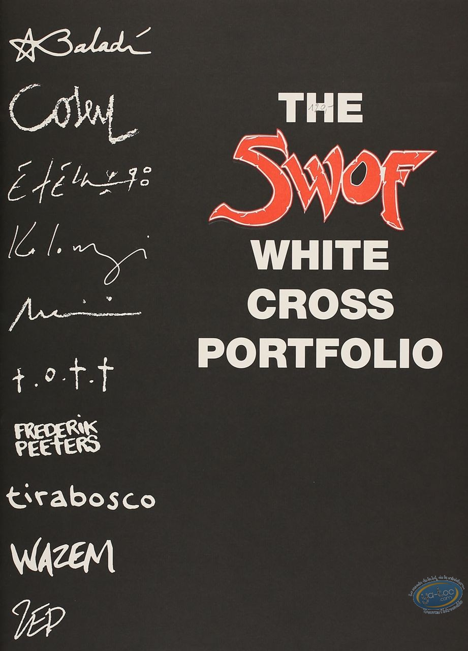 Portfolio, The Swof White Cross