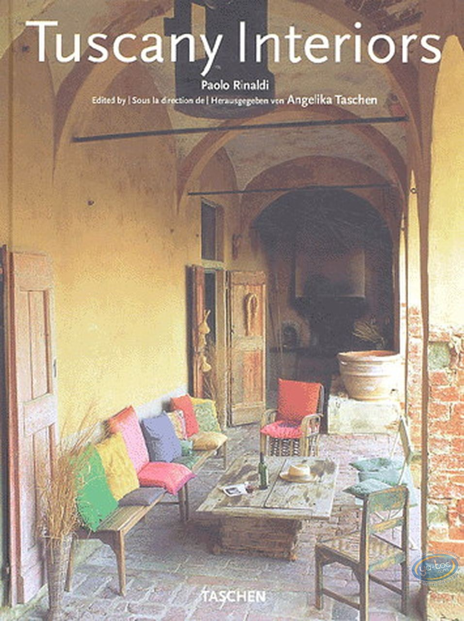 Book, Tuscany Interiors