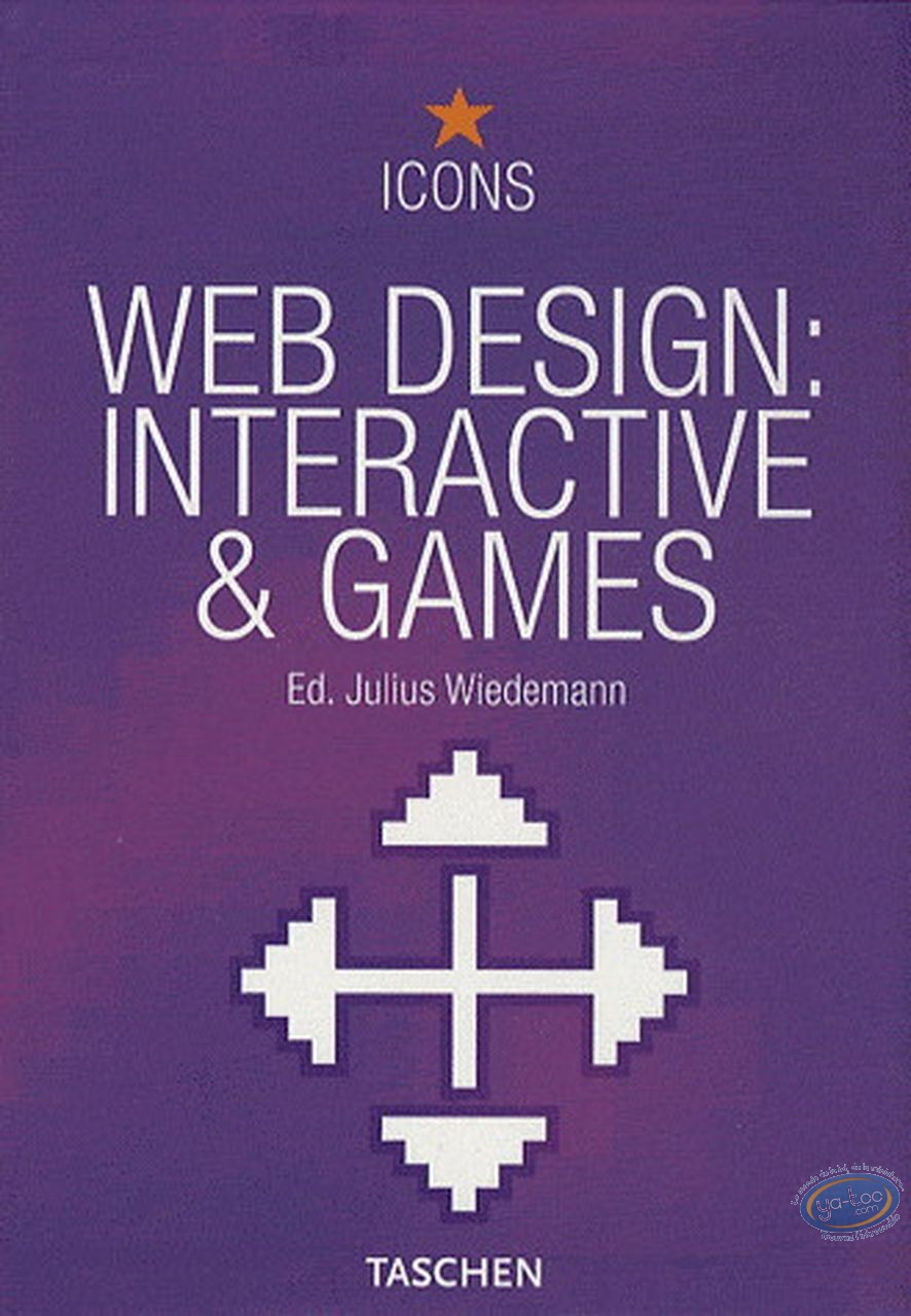 Book, Web design: interactive & games