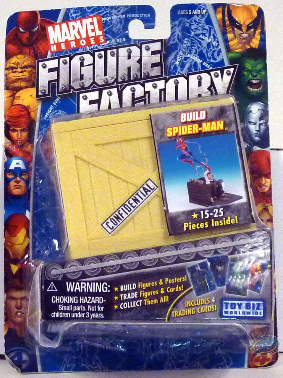 Action Figure, Spiderman : Spiderman