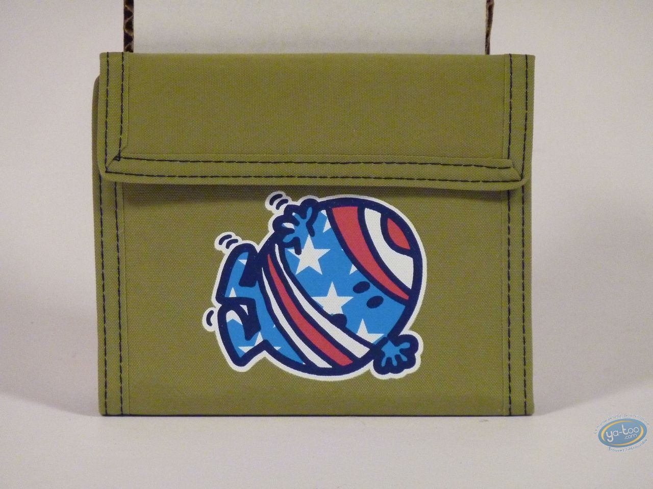 Luggage,  Mr. Men and Little Miss : Green wallet : Mr Bump.