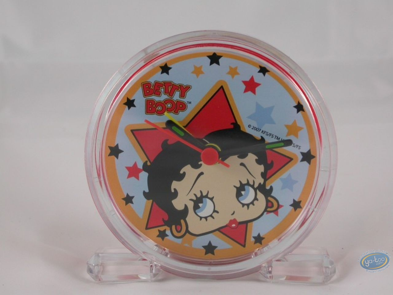 Clocks & Watches, Betty Boop : Little alarm clock : Betty Boop 'Star'.