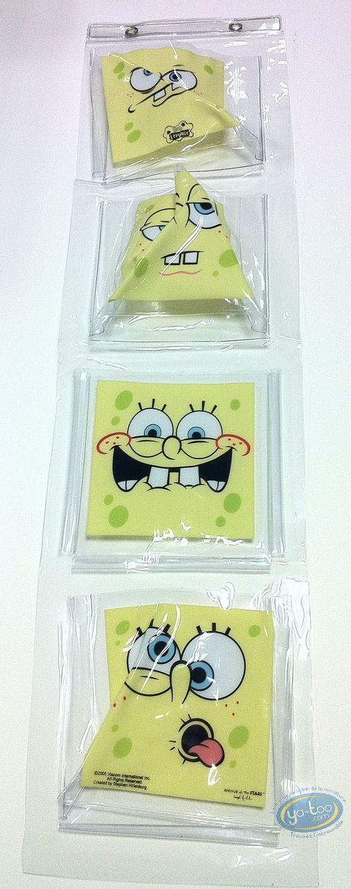 Deco, Sponge Bob : Storage shower SpongeBob