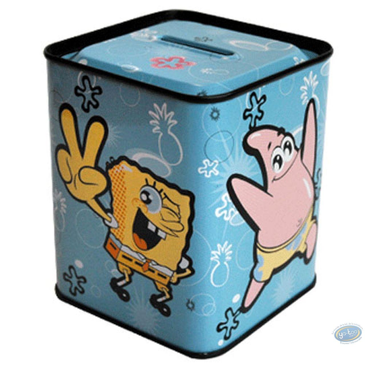 Piggy Bank, Sponge Bob : Square piggy bank : SpongeBob