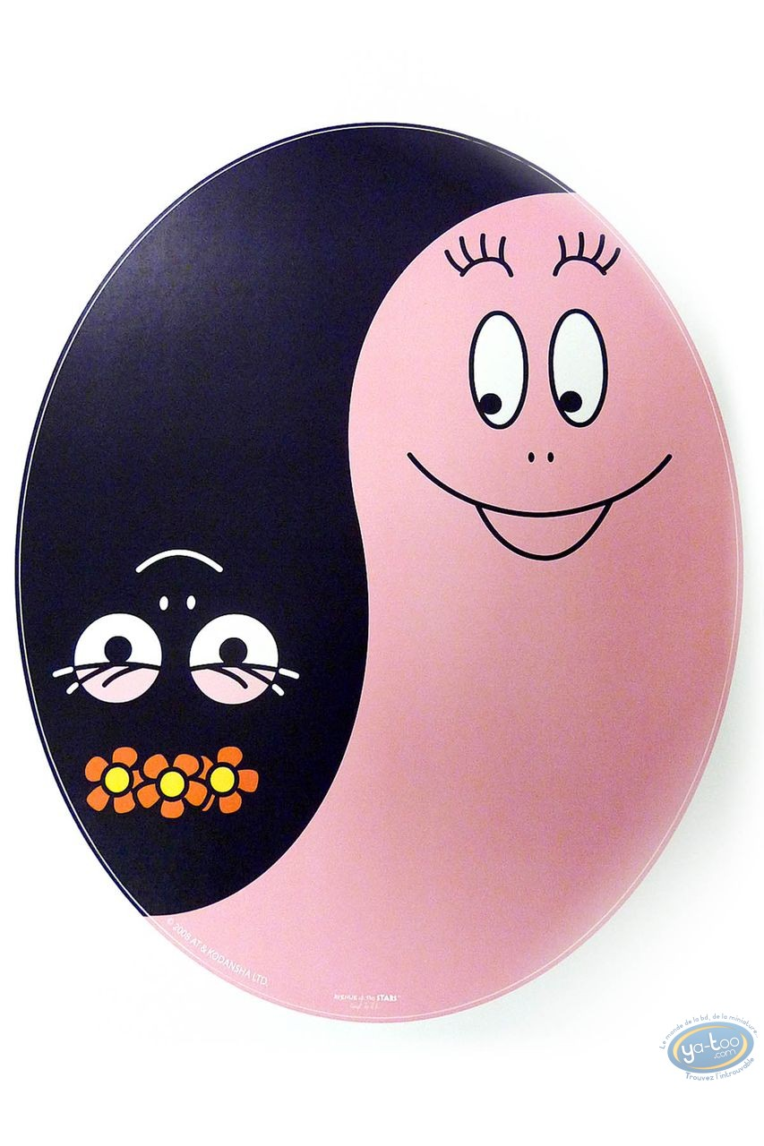 Deco, Barbapapa : Sticker WC, Barbapapa : Yin Yang