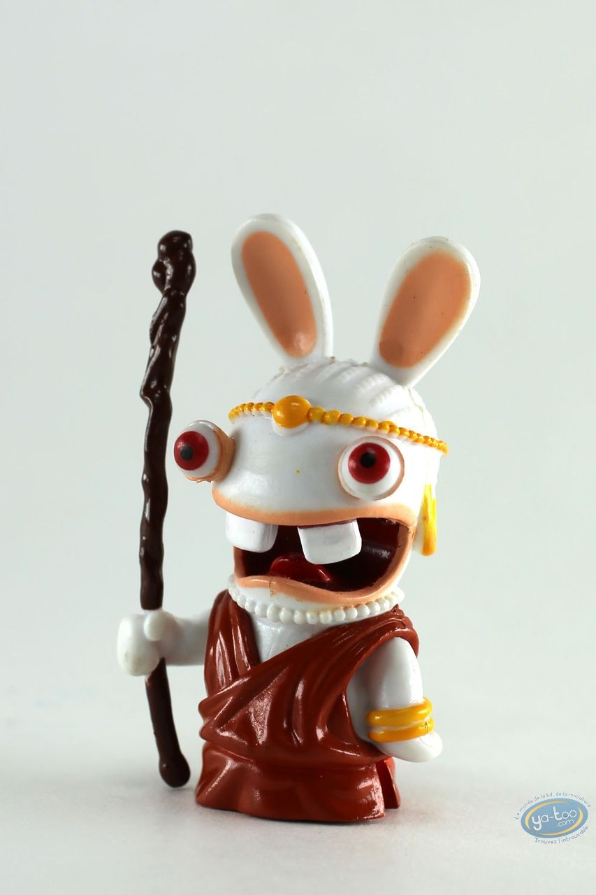 Plastic Figurine, Raving Rabbids : Kenya (pilgrim)