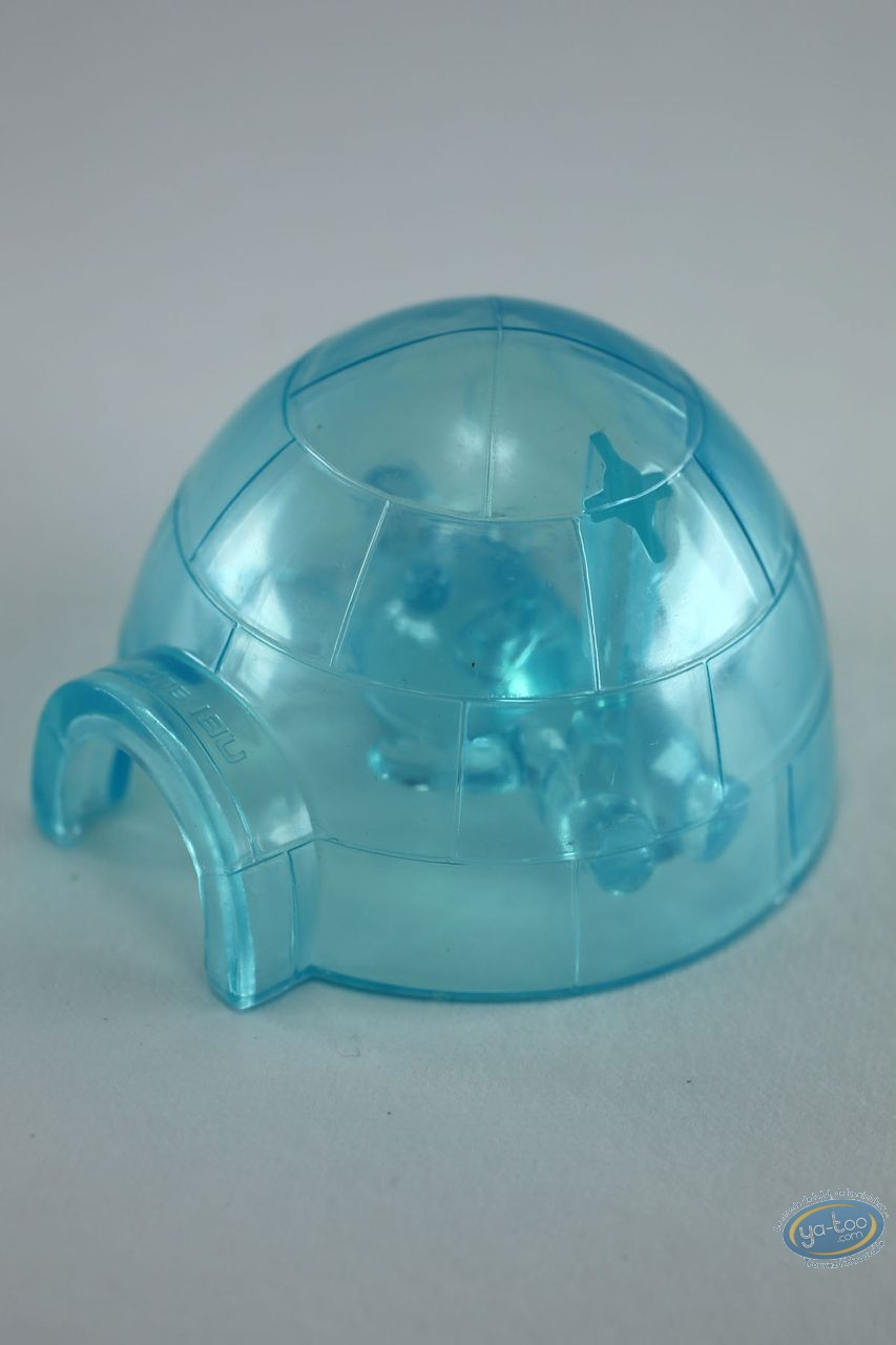 Plastic Figurine, Raving Rabbids : North Pole (igloo)