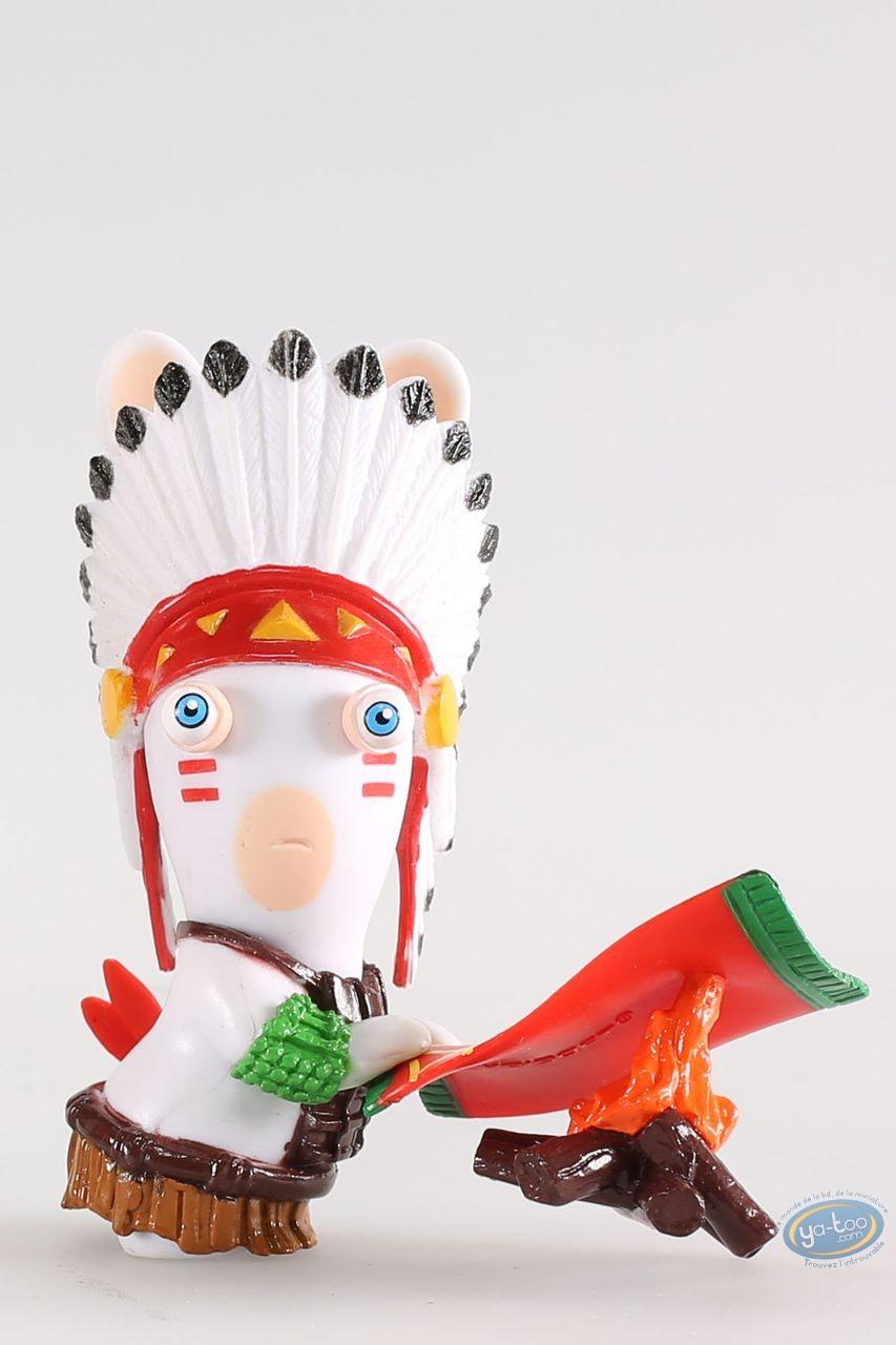 Plastic Figurine, Raving Rabbids : Indian