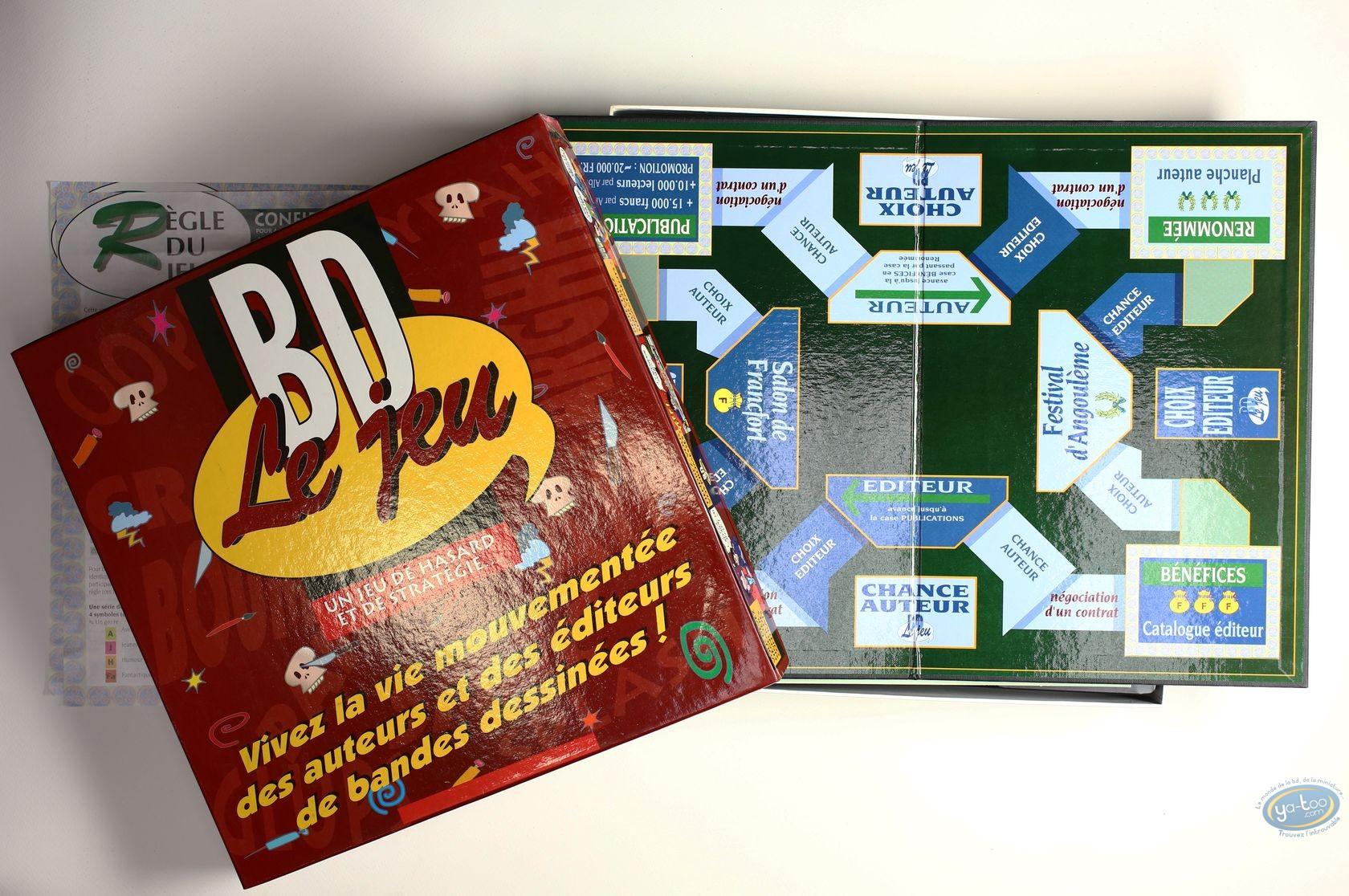 Board Game, BD, le jeu ! Un jeu de hasard et de stratégie...