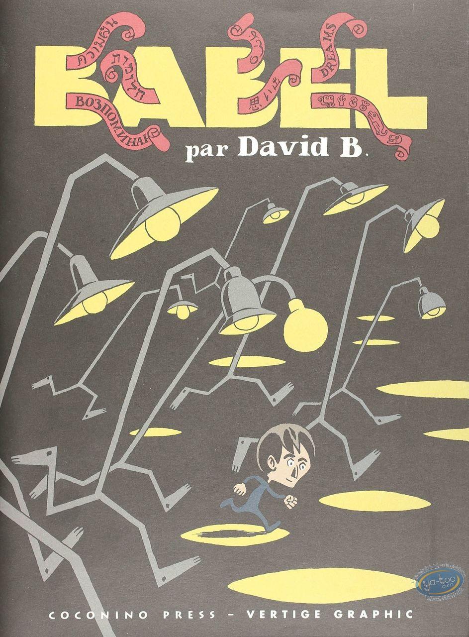 Listed European Comic Books, Babel : Babel