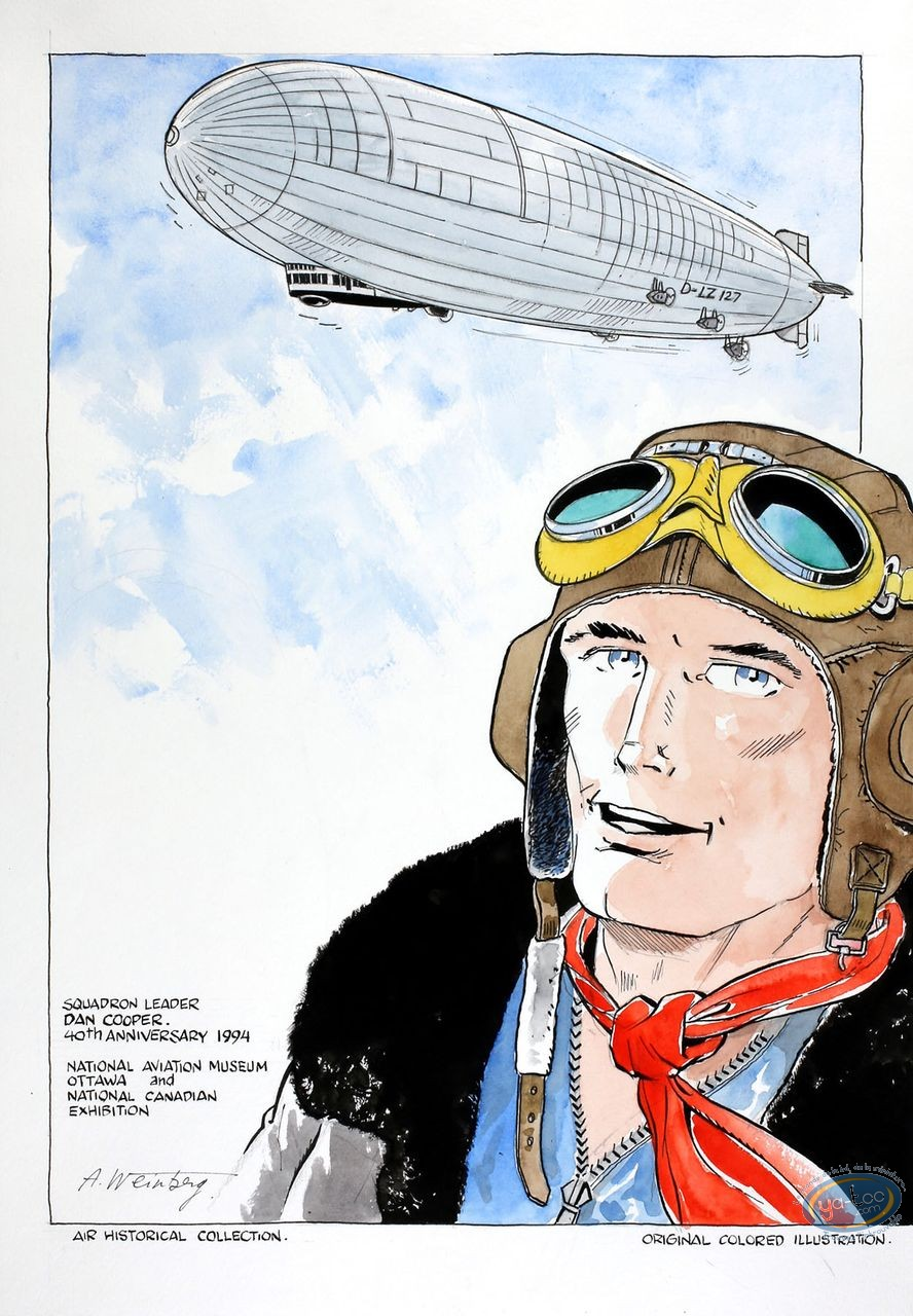 Aquarelle, Dan Cooper : Airship 2