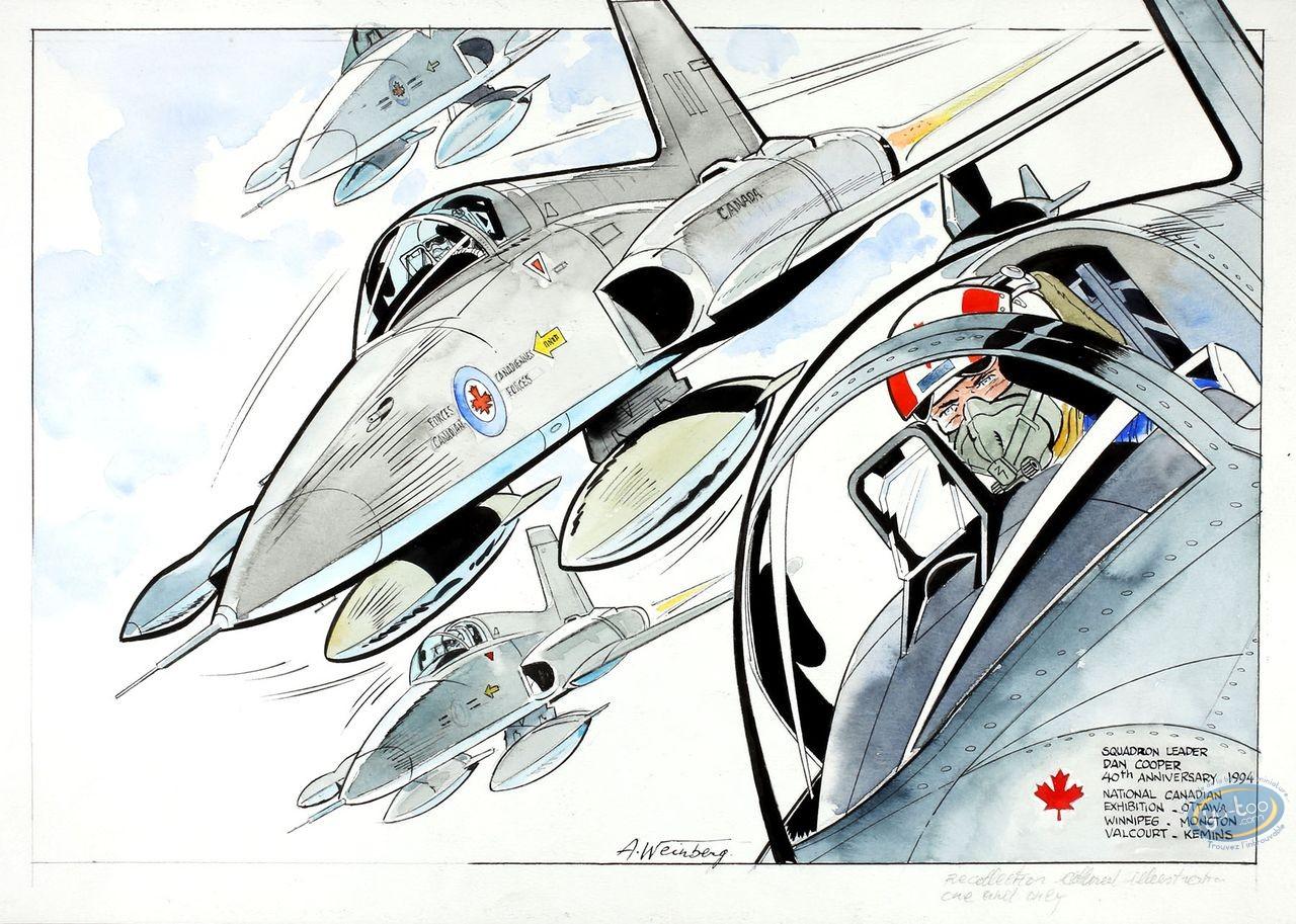 Aquarelle, Dan Cooper : Squadron