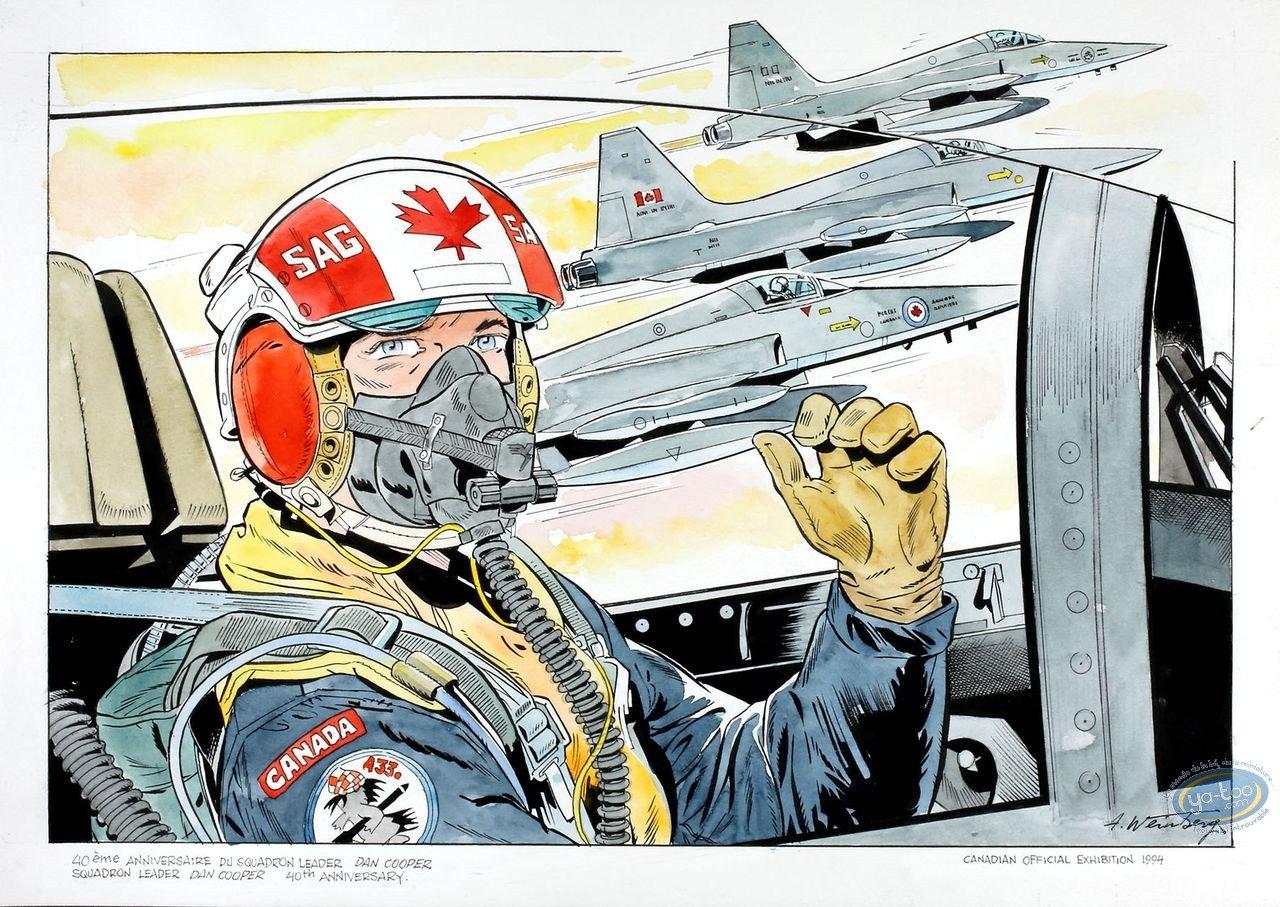 Aquarelle, Dan Cooper : Squadron 2