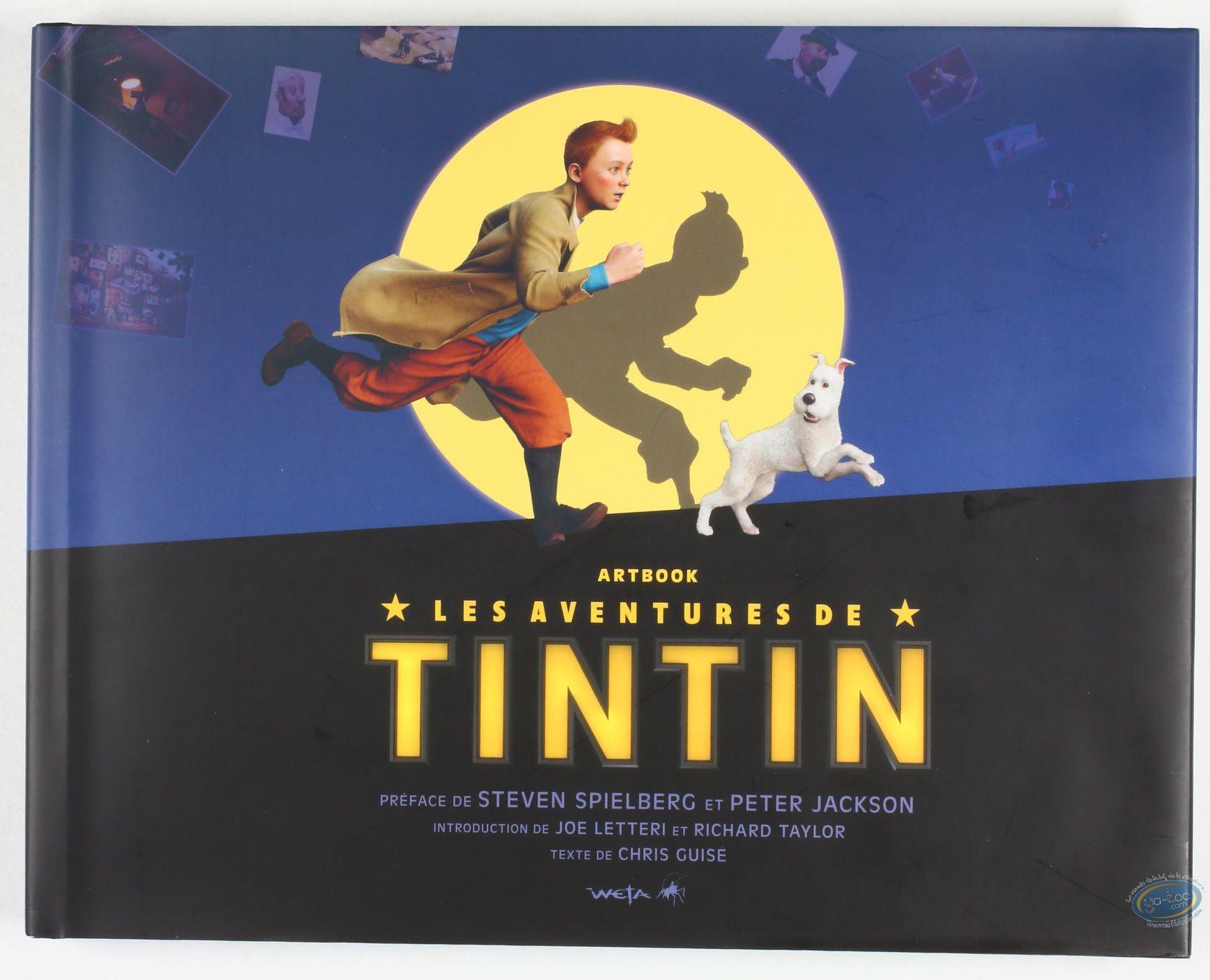 Reduced price European comic books, Tintin : Art Book, Les aventures de Tintin