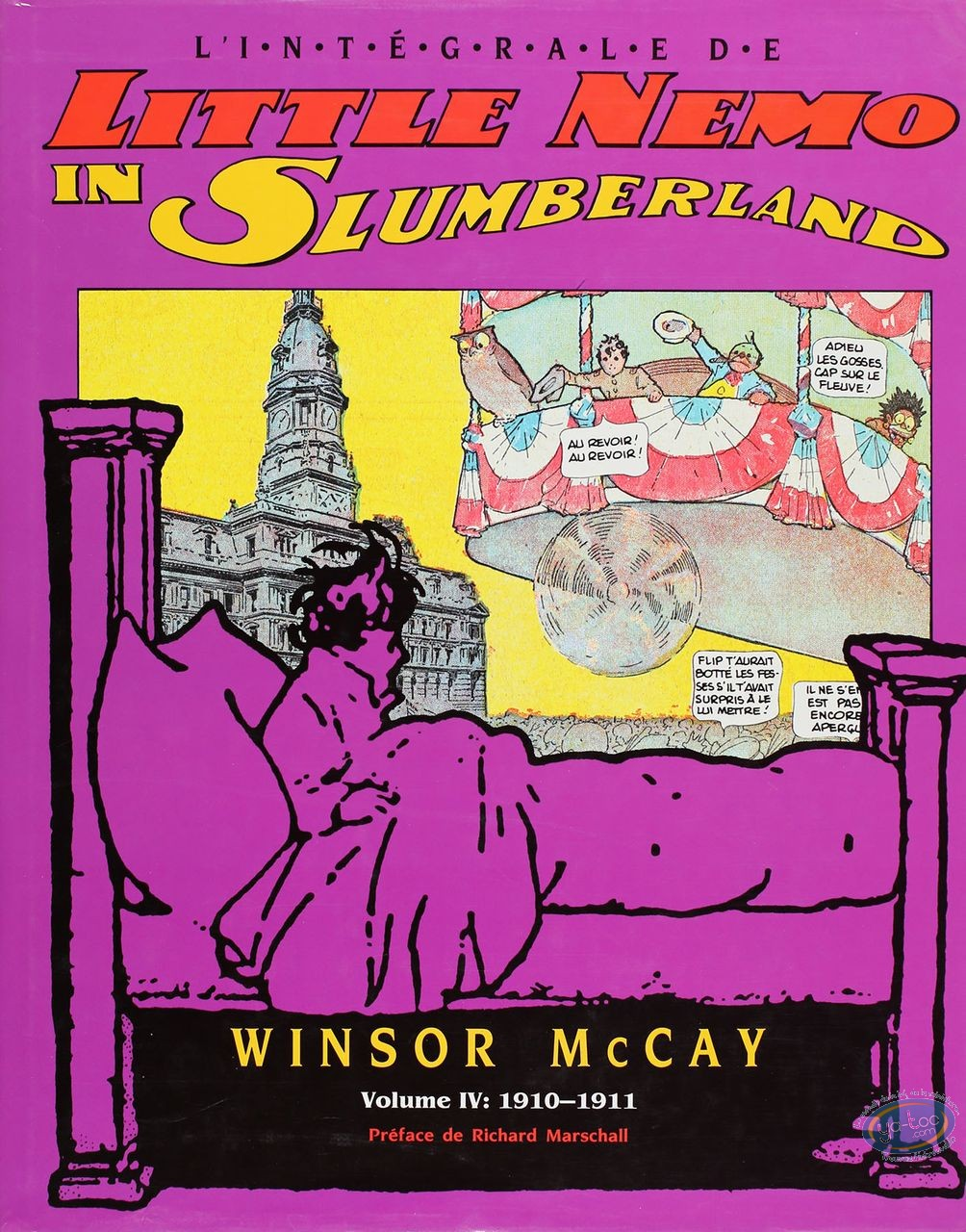 Listed European Comic Books, Little Nemo : 1910-1911 (good condition)