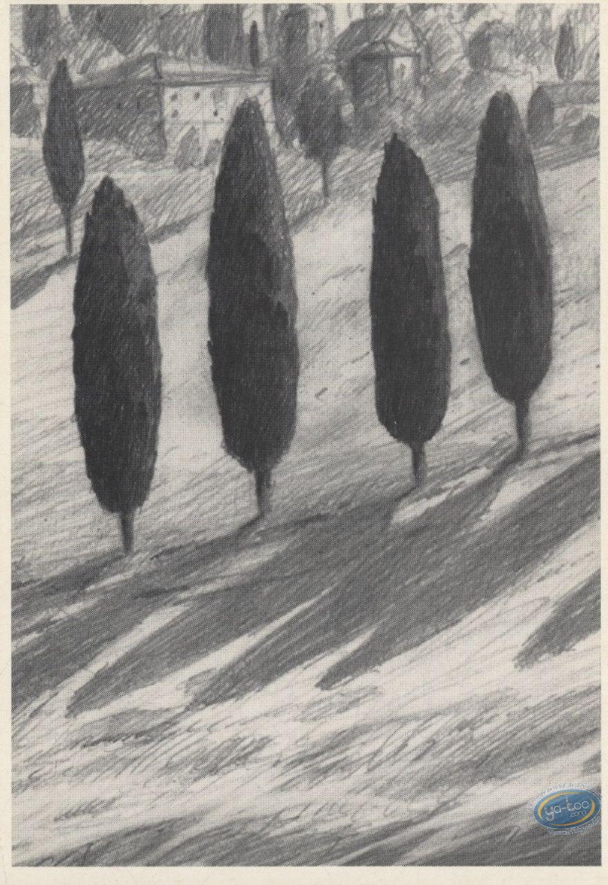 Bookplate Offset, Galilée : Trees