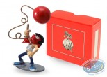 Metal Figurine, Gaston Lagaffe : Collection Gaston's Inventions - The bowling alley