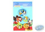 Pin's, Mickey Mouse : 5 buttons Mickey and his friends, Disney