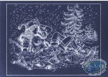 Offset Print, Luc Orient : Laura Christmas Tree (negative)