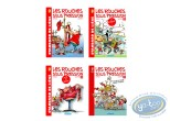 Reduced price European comic books, Rouches Sous Pression (Les) : Les Rouches sous pression, Complete serie of 4 volumes