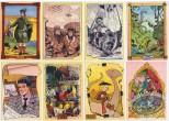 Post Card, Assortment, Les Grands Ancêtres by A. Floc'h