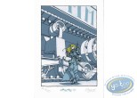 Bookplate Serigraph, Régulateur (Le) : Hestia & the Tank