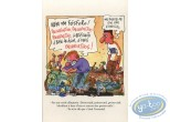 Post Card, Prévention Sida, Modèle 1 (en Néerlandais)