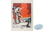 Serigraph Print, Jungle Jim : Jungle Jim on top of the hill