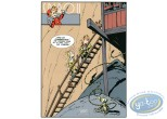 Serigraph Print, Spirou and Fantasio : The Prisoner of Buddha (nl)