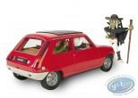 European comic strip vehicle, Spirou and Fantasio : Renault 5 TS 1975