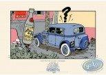 Serigraph Print, Spirou and Fantasio : Pchitt