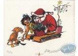 Bookplate Offset, Navis : Santa Claus