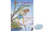 Wine Label, Pin-Up : The Lake - Bois Meynard