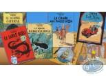 Album, Tintin : Collection 7 books for 'le Soir'