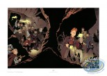 Offset Print, Spirou and Fantasio : Les Marais du Temps