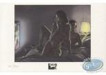 Bookplate Offset, Twenty : Couple nu sur un lit