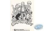 Bookplate Offset, Tribute to Comics 1 (b&w)