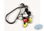 Keyring, Mickey Mouse : Mickey hands on hips ( bas relief), Disney
