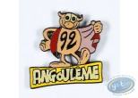 Pin's, Rubrique à Brac : Gotlib, The ladybug 92 Angouleme