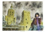 Bookplate Offset, Angeline : Snow