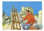 Bookplate Offset, Maîtres de l'Orge (Les) : Painting