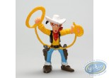 Plastic Figurine, Lucky Luke : Lucky Luke lasso in the air