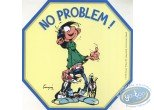 Sticker, Gaston Lagaffe : No problem!