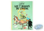 Reduced price European comic books, Tintin : Les 7 boules de cristal