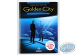 Listed European Comic Books, Golden City : Comic book, Malfin, Golden City volume 2 : Banks contre Banks (very good condition)