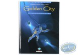 Listed European Comic Books, Golden City : Comic book, Malfin, Golden City volume 3 : Nuit polaire (very good condition)