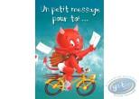 Post Card, Hot Stuff : Un petit message pour toi... Joyeux anniversaire!