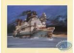Bookplate Offset, Nikopol : Bilal, bateau (petit)