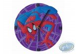 Clocks & Watches, Spiderman : PVC clock, Spiderman