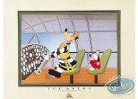 Offset Print, Tex Avery : Droopy with The Wolf as a pilot